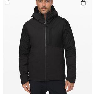 Lululemon pinnacle warmth black goose jacket XL